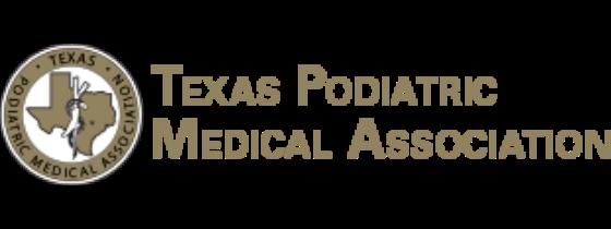 Texas Podiatric Medical Association Logo