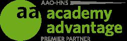 AAO-HNS Color Premier Partner Logo