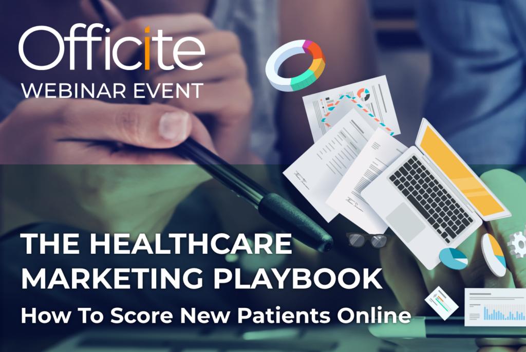 Healthcare Marketing Playbook Webinar Image