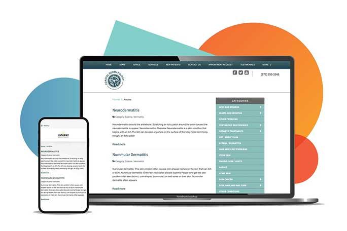 patient education website example