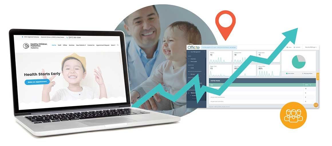 pediatrics website example