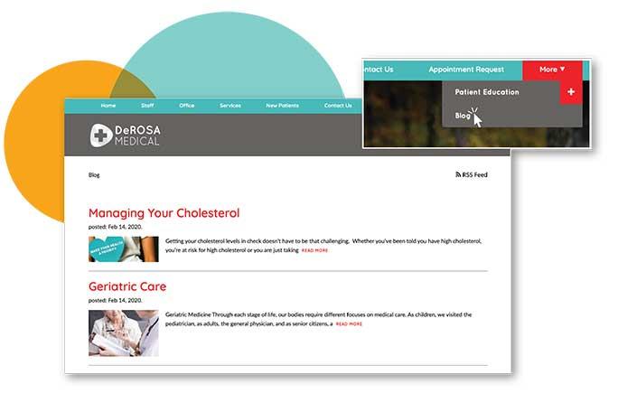 blog website example