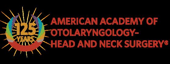 AAO-HNS 125th Anniversary Logo