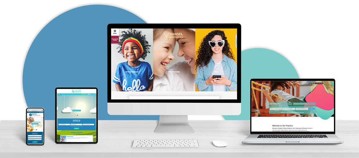 Creative,Web,Design,Studio,Desk,With,Different,Devices,And,Responsive